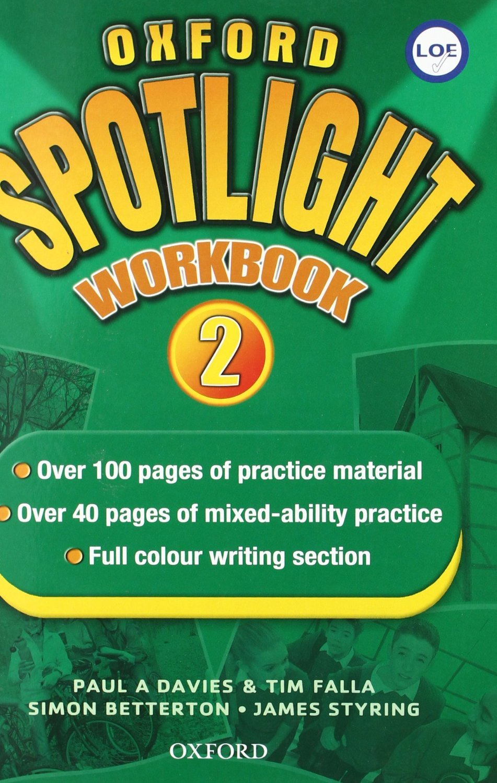 Oxford Spotlight 2: Enhanced Workbook Spanish - 9780194399104 ...
