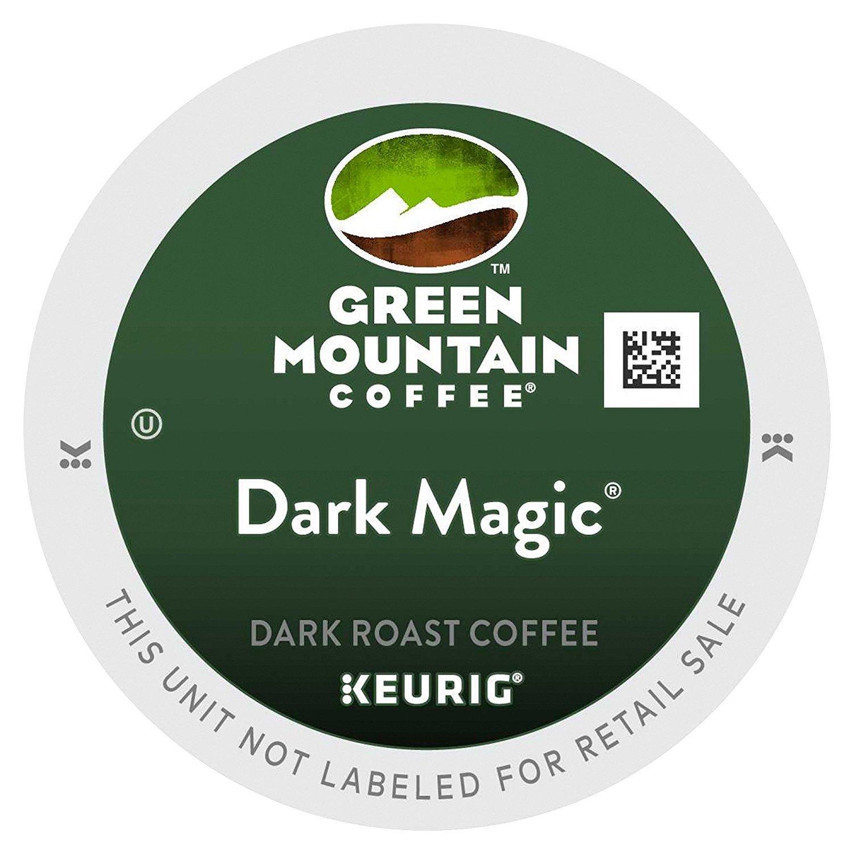 Green Mountain Coffee, Dark nafmu Magic (Extra Bold), 72 Count (2 Pack)