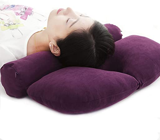 Buckwheat Cylinder Neck Pillow: Amazon