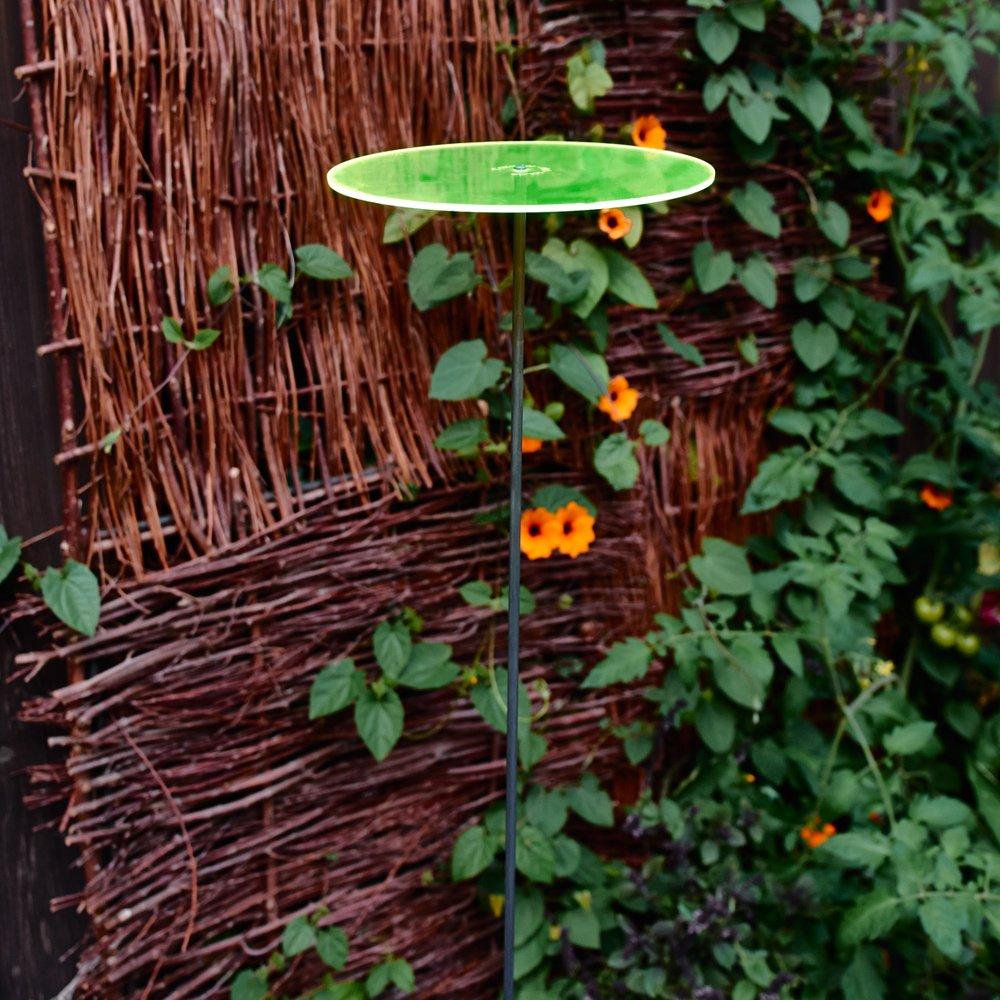 Cazador-del-sol - 8'' Suncatcher Set of 3 - Uno - Green by Cazador-del-sol (Image #2)
