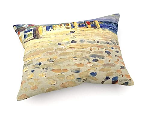 Vassily Kandinsky - Sillas de Playa de Mimbre - 1904-60x40 ...