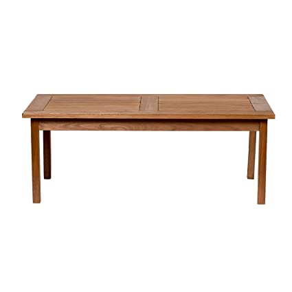 amazonia milano eucalyptus coffee table - Teak Wood Coffee Tables