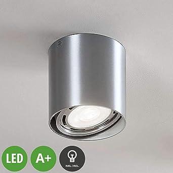 LED Proyector, foco Rosalie (Moderno) en Gris hecho de Aluminio ...