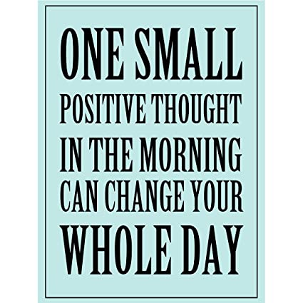 Amazon Meishe Art Poster Print Inspirational Quotes Phrase One Amazing Motivational Thoughts Quotes