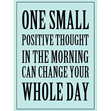 Amazon Com Meishe Art Poster Print Inspirational Quotes Phrase One