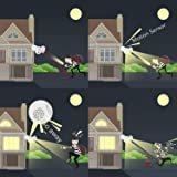 Sengled Floodlight Camera Motion Activated 1080p HD Color Night Vision Security Cam Two Way Talk Camera PAR38 E26 Base (2nd Gen), 2 Pack