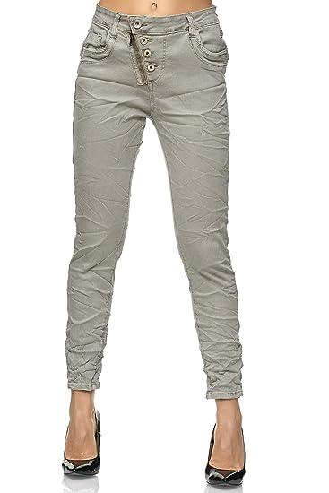 Elara Damen Jeans Hose stretch| High Waist | Skinny