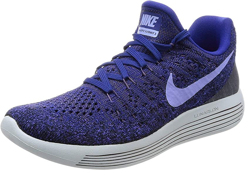 f66bc22335b2 Nike Womens Lunarepic Low Flyknit 2 Running Shoe Size 10.5