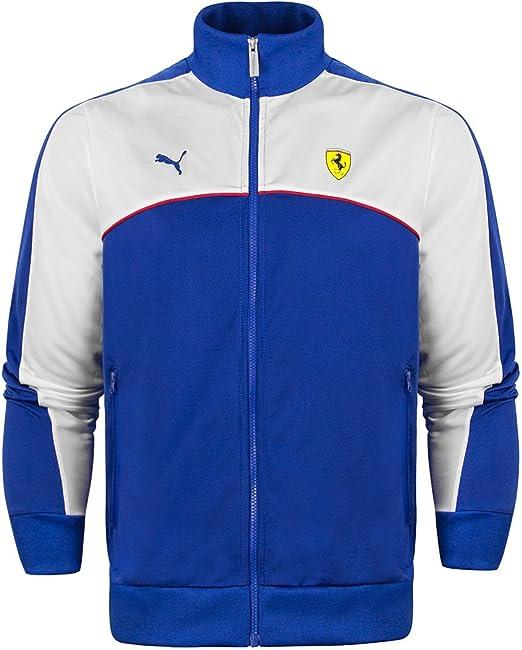 Chaqueta para hombre con cremallera Puma Scuderia Ferrari azul azul ...