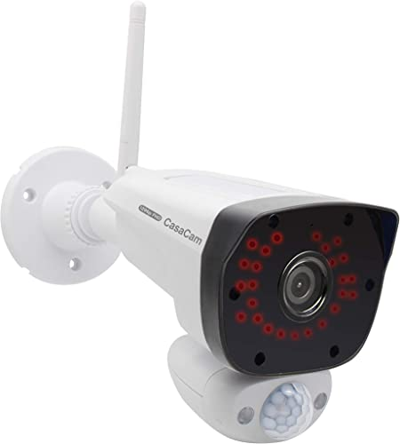 CasaCam VC2000 Additional Night Vision 1296P FHD 3MP Camera for VS2004, VS2072, VS2104, AC Powered
