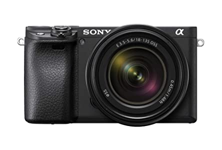 Sony Alpha ILCE-6400M 24.2MP Mirrorless Digital SLR Camera (Black) with 18-135mm Power Zoom Lens
