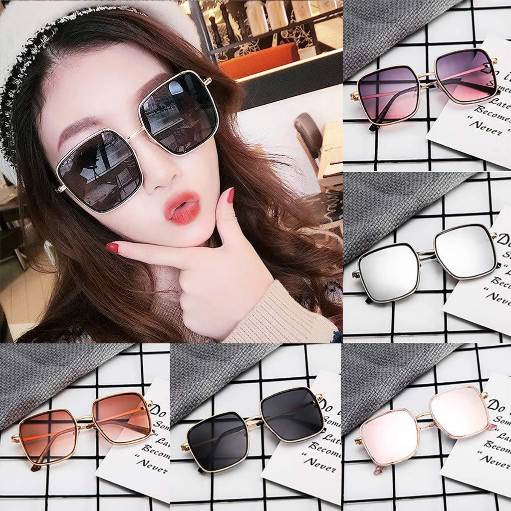 Polarized Oversized Fashion Vintage Eyewear Glasse Sunglasses,Beautyolove Fashion Sunglasses for Women