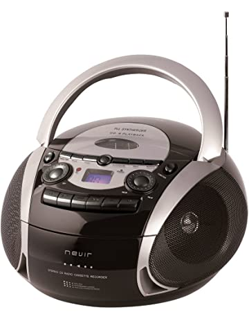 NEVIR RADIO CD CASSETTE CON USB COLOR NEGRO MODEL NVR-482UCM