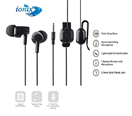 Image result for Ionix Model HB-21 Earphone