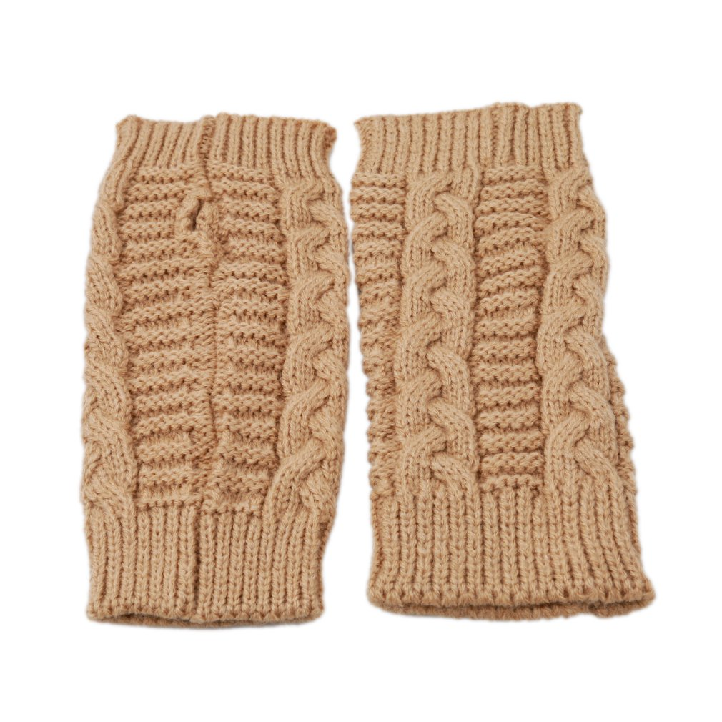 Amazon.com: TraveT Women Fashion Winter Gloves Knitted Arm