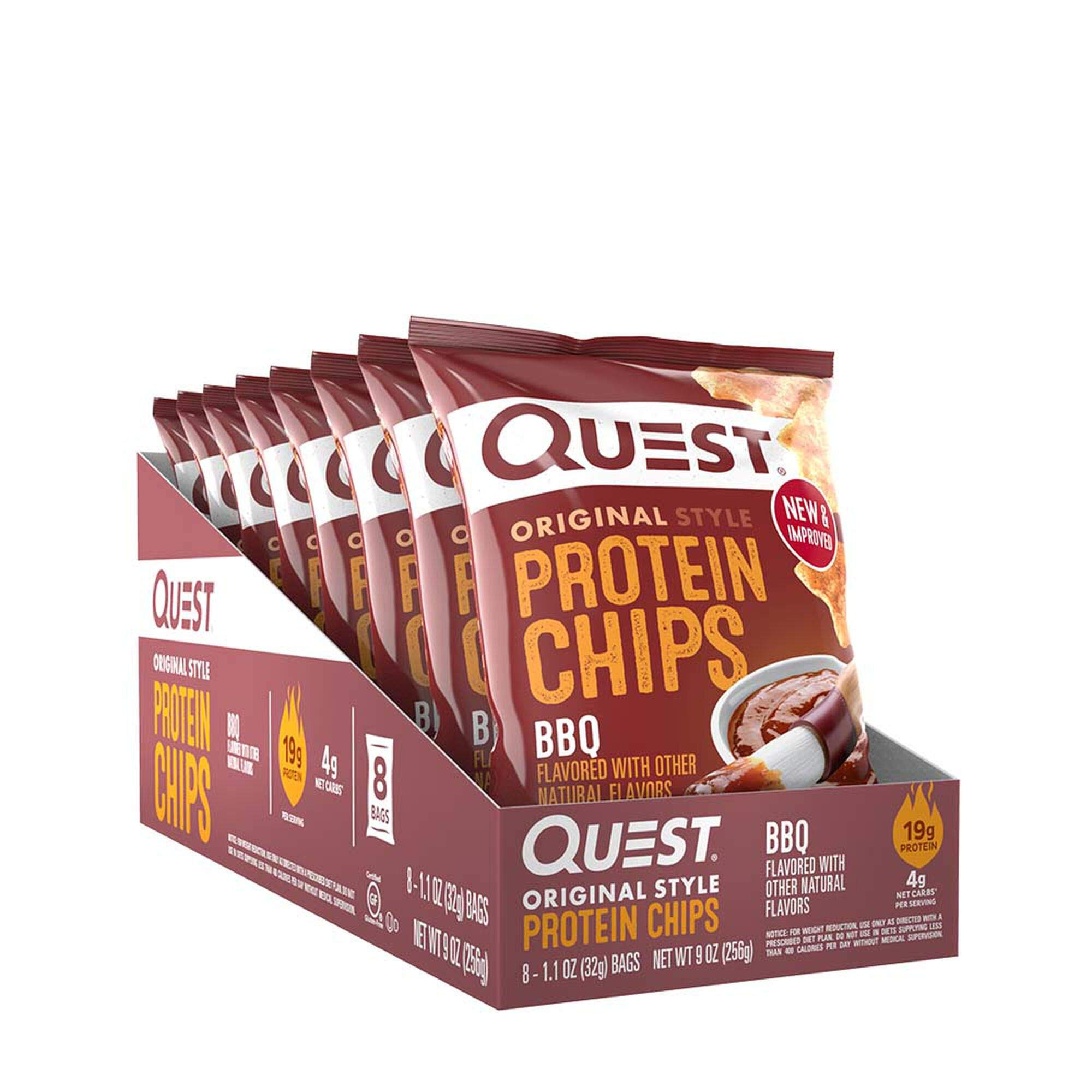 Quest Protein Chips - BBQ