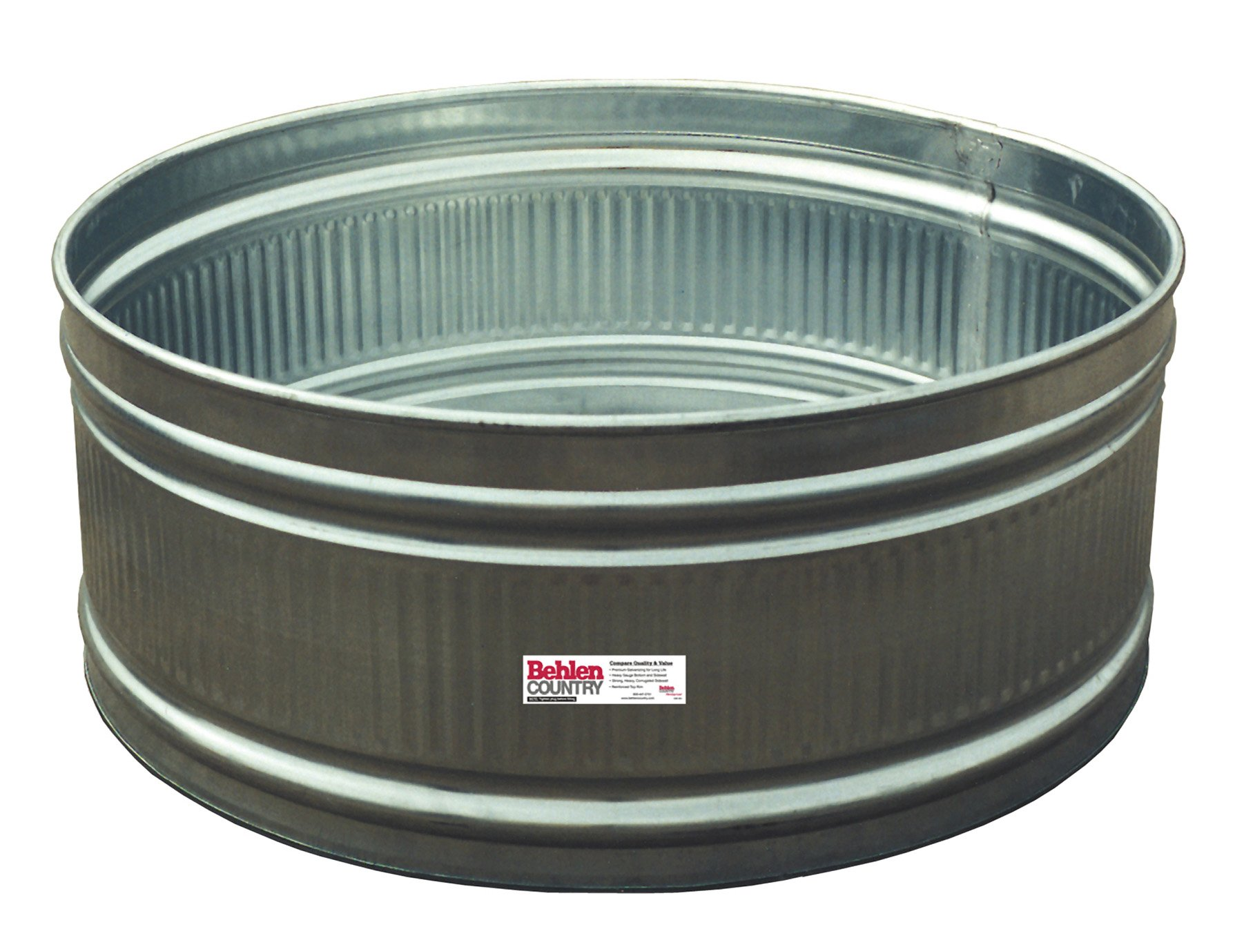 Behlen Country R42 165-Gallon Galvanized Round Tank by Behlen Country