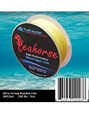Seahorse Downrigger Braided Line 300 Feet 200 Lbs Test