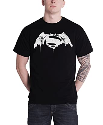 Superman - Tee Shirt Superman Logo NoirDC Comics Jeu Ebay mVOM5VQa