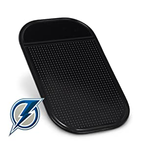 Blue Lightning Radar Detector Dash Mat - Anti-Slip Magic Pad