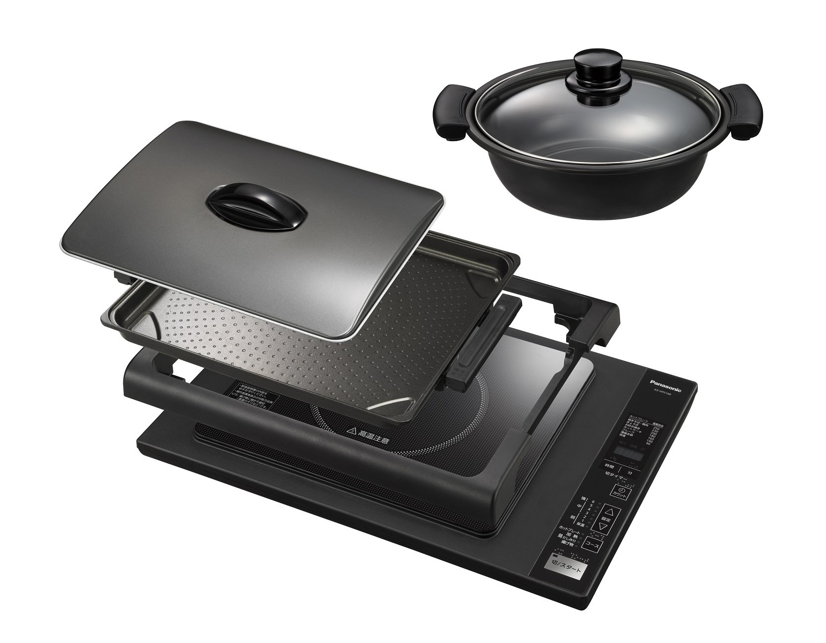 Panasonic IH hot plate black KZ-HP2100-K