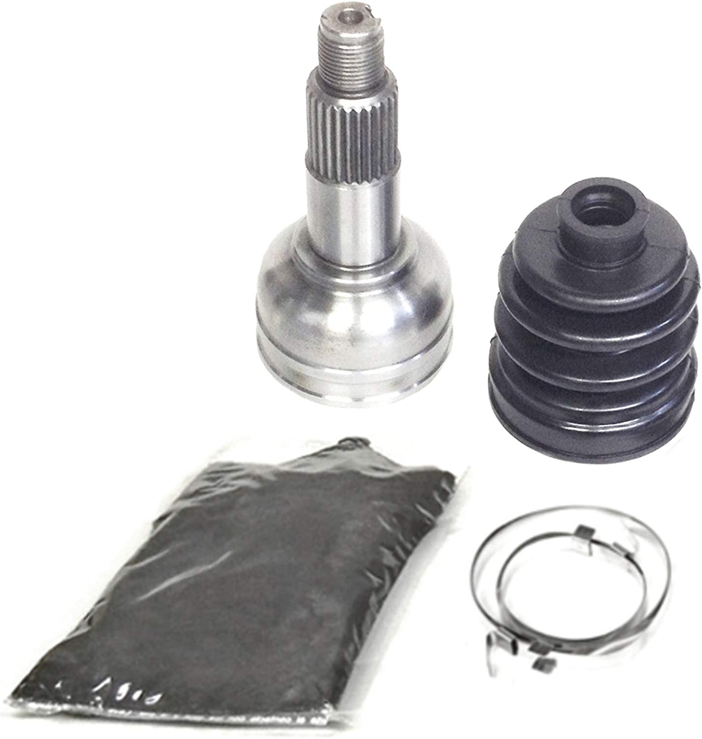 Rear Inner /& Outer CV Axle Boot Kit for Yamaha Grizzly 450 w// 4x4 2007-2014