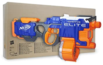 Nerf N-Strike Elite Hyperfire en embalaje sostenible, la ...