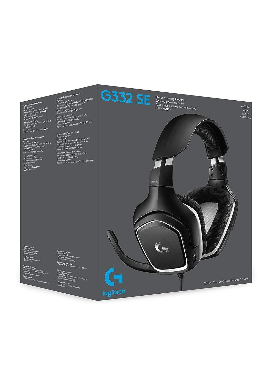 Logitech G332 Se Stereo Gaming Headset Black//Red