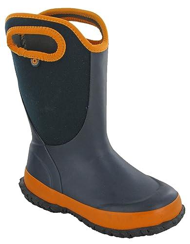 75d78402e3d3 Boys Winter Wellingtons Boots Neoprene Pull On Warm Lined UK 11-5 (UK 12