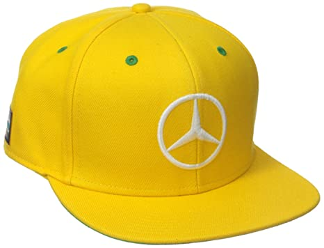 formula 1 baseball caps cheap mercedes cap special edition yellow flat brim hat