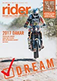 rider (ライダー) vol.10 [雑誌] (オートバイ 2017年3月号臨時増刊)