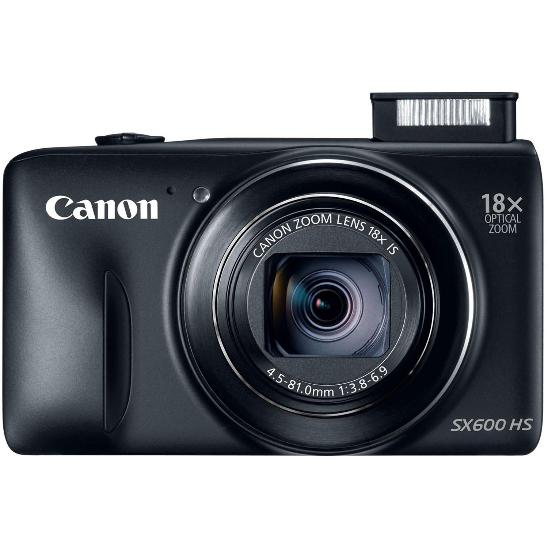 Amazon.com : Canon PowerShot SX600 HS 16MP Digital Camera (Black ...