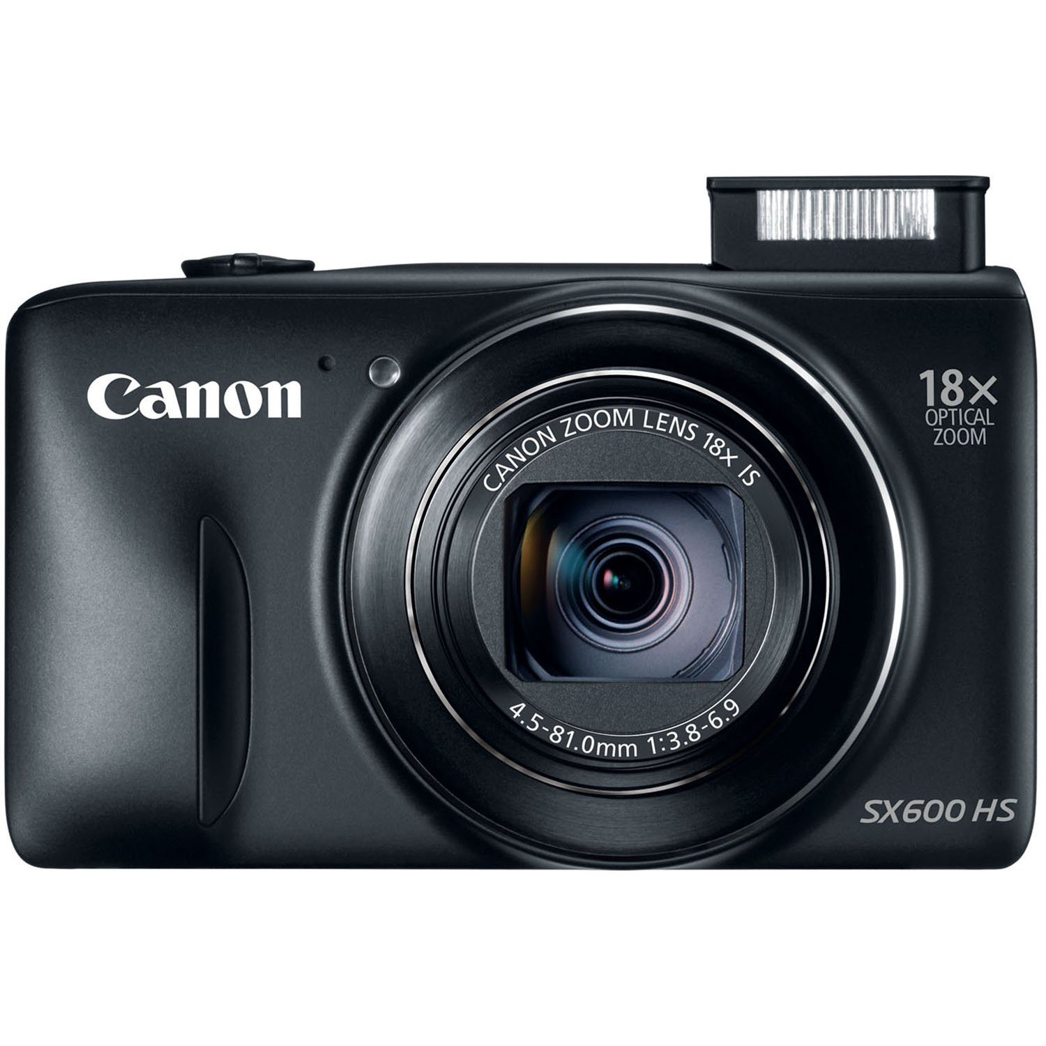 Canon PowerShot SX600 HS 16MP Digital Camera (Black) by Canon
