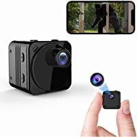 Spy Camera Wireless Hidden WiFi Small Camera with Night Vision, Motion Detection, Remote Viewing Mini Nanny Cam HD Video…