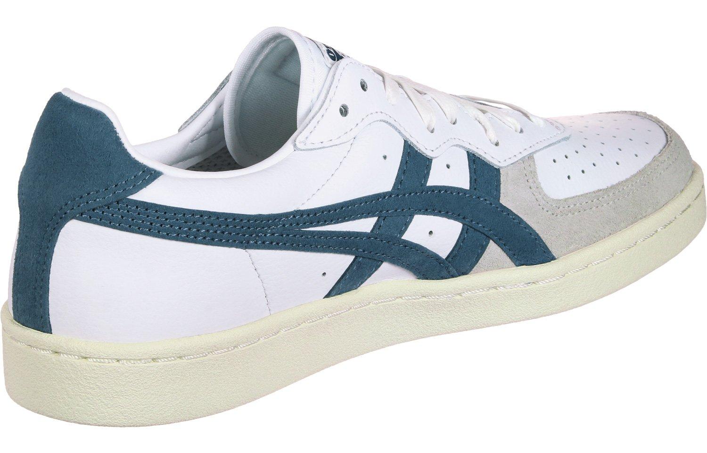 Details zu asics GSM D5K2Y 0140 Sneaker Herren Turnschuhe Weiß