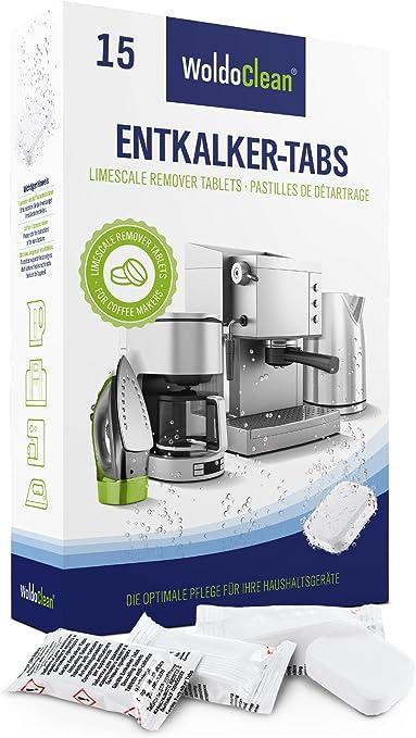 Descalcificador Cafetera Pastillas de descalcificación - 15x 16g ...
