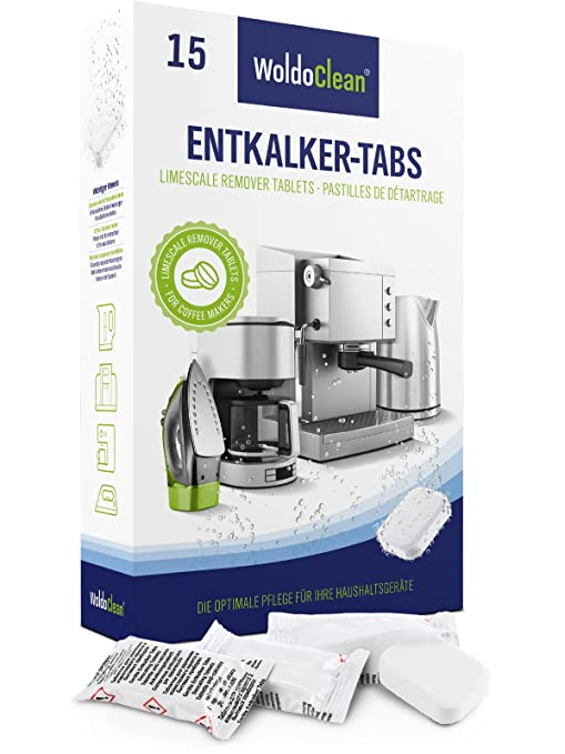 Descalcificador Cafetera Pastillas de descalcificación - 15x ...