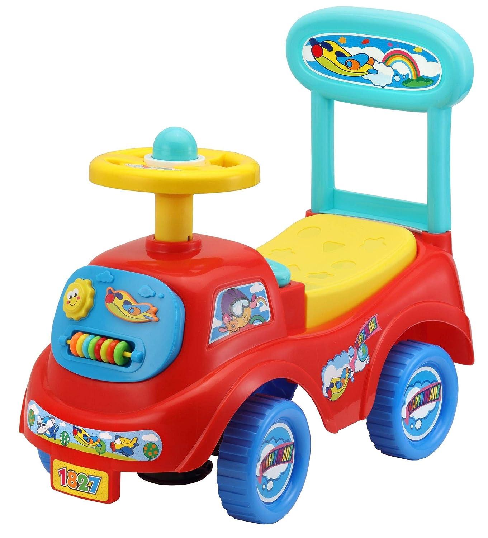 Rutschauto in 10 verschiedenen Modellen - Ein guter und preiswerter Aufsitzwagen Rutschwagen Lauflernwagen Kinderfahrzeug, Modell:Blue Pemicont