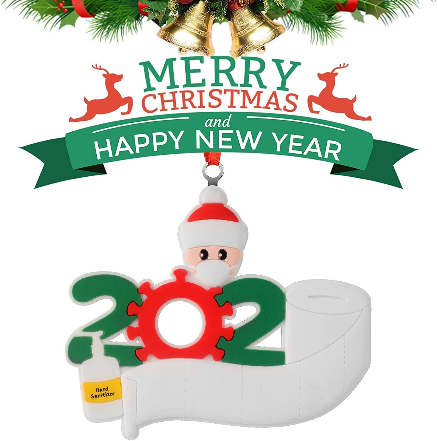 2020 Marry Christmas Hanging Ornaments Family Ornament Xmas Decora