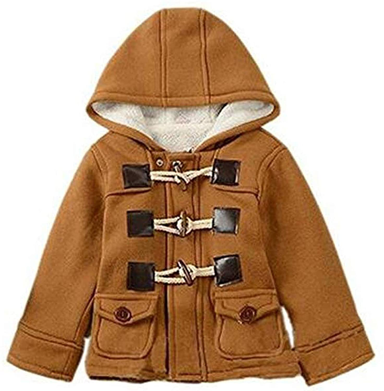Aceshin Baby Jacke Winterjacke Kinder Fleecejacke Kinder Kapuzenmantel Baby Daunenjacke Winter Kapuzejacke