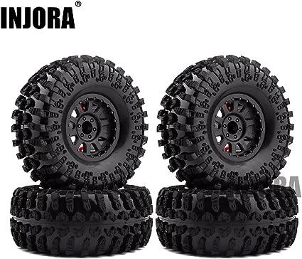 Metall 2,2/'/' Felgen Beadlock Wheels für 1//10 RC Axial Wraith RR10 SCX10 TRX4 D90