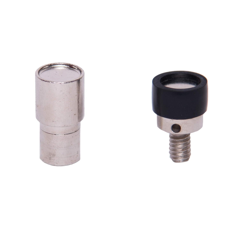 GETMORE Parts Punzone M6 per rivetti calotta doppia, matrice per occhiellatrice, torrchietto - 5 mm