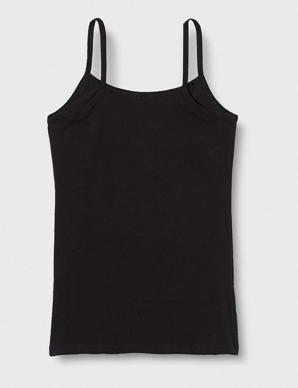 Marca Iris /& Lilly Camiseta de Tirantes de Algod/ón Mujer Pack de 5