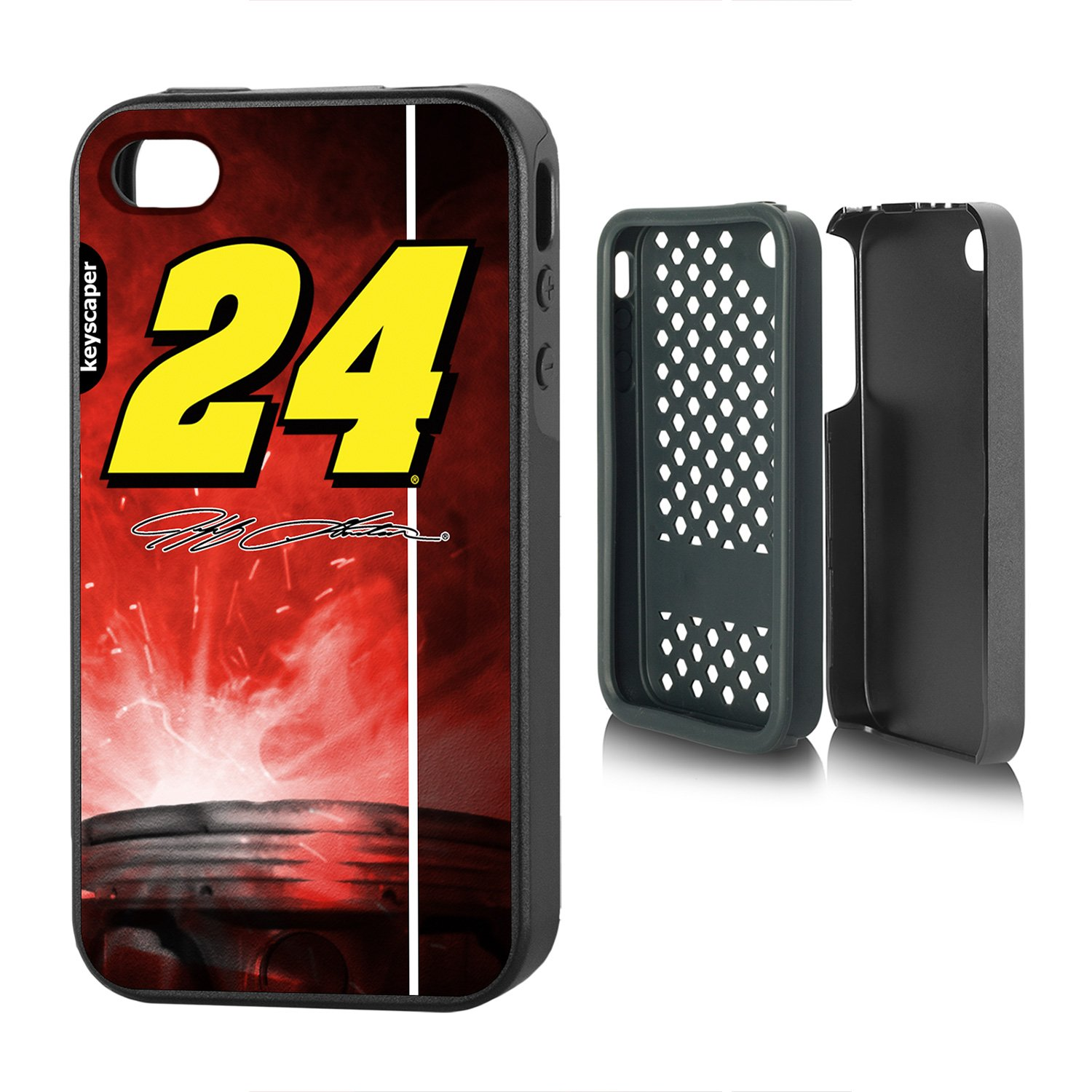 大特価!! Jeff Gordon iPhone 4 & by iPhone Jeff 4s 4 Rugged Case Officially Licensed by Nascar For The Apple iPhone 4/ 4s by Keyscaper ®耐久性2層保護衝撃吸収 B00SUBUG5A, 中古テニスマーケット:8c254928 --- arianechie.dominiotemporario.com