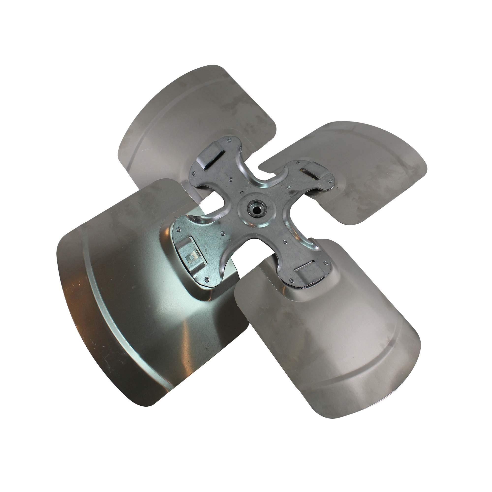 Marvair 30115 4-Blade HVAC Condenser Fan, 20'' Diameter, 22º Pitch
