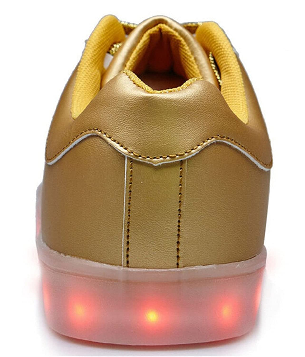 Amazon Com Another Summer 7 Colors Led Luminous Unisex Men Women Sneakers Usb Charging Light Colorful Glowing Leisure Flat Shoes Fashion Sneakers