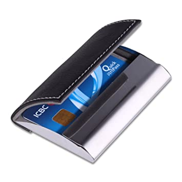 Credit Card Holder Blocking IMS RFID Thin  Pocket Metal Wallet Case