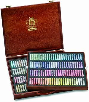 SCHMINCKE 77200097 - Juego de pasteles (2000 en una caja de madera): Amazon.es: Oficina y papelería