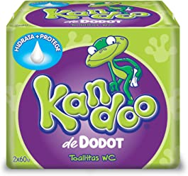 Kandoo wipes melon 120 pcs