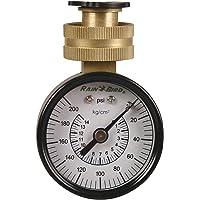 Rain Bird P2A Water Pressure Test Gauge, 0-200 PSI